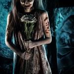 Постер, плакат: romantic zombie