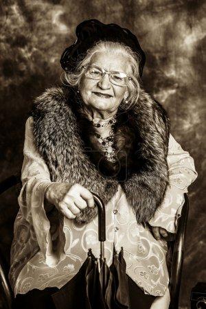 vieille madame