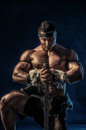 antique warrior
