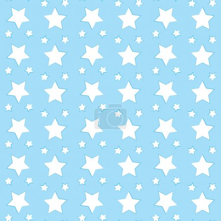 Star pattern wallpaper. Vector illustration