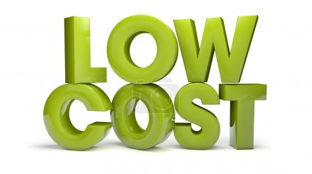 Photo for Render of the text low cost - Royalty Free Image