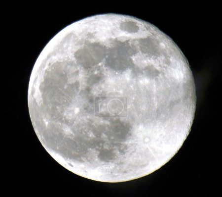 Photo for The super moon, photographed in south Florida - Royalty Free Image