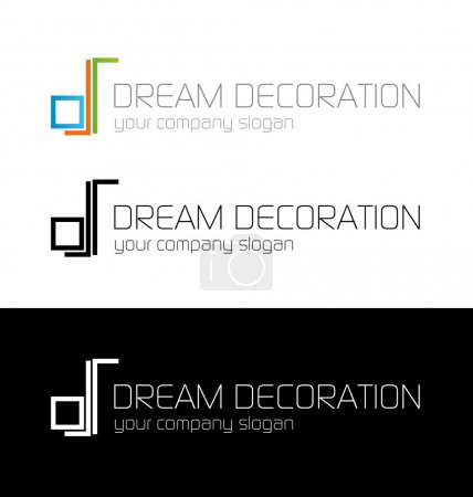 Dream decoration logo template
