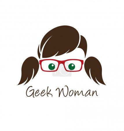 Geek woman