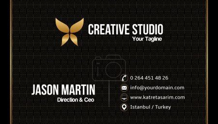 Prestige business card