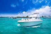 Luxury yatch in beautiful ocean