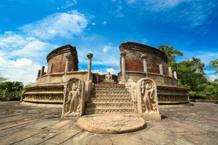 ville antique de polonnaruwa