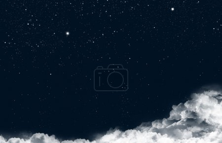 Photo for Stars in the night sky - Royalty Free Image