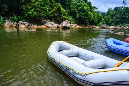 Water rafting boats