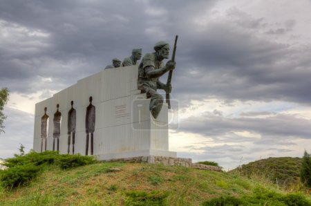 Distomo Memorial built to honor the victims of the...