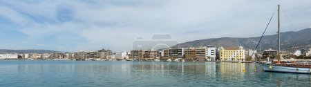 Panorama of Volos waterfront, Thessaly, Greece