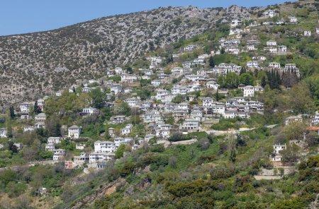 View of the picturesque village of Makrinitsa, Pelio, Greece