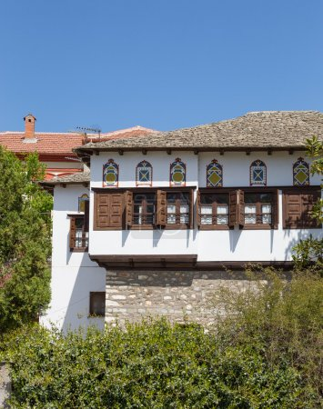 Typical traditional architecture of Pelion mount region, Thessaly, Greece