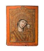 """Постер, картина, фотообои """"Наша Леди Казани типа святой иконы, представляющий Девы Марии и Иисуса, 19%"""""""