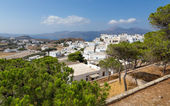 Plaka village, Milos island, Cyclades, Greece