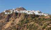 View of Plaka village, Milos island, Cyclades, Greece