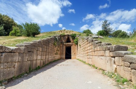 The Treasury of Atreus or Tomb of Agamemnon is an ...