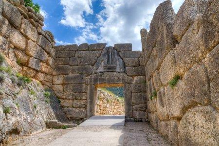 Lion Gate, Mycenae, Greece