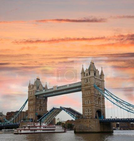 Photo for Famous Tower Bridge, London, UK - Royalty Free Image