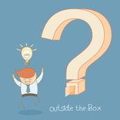 Success idea outside the box