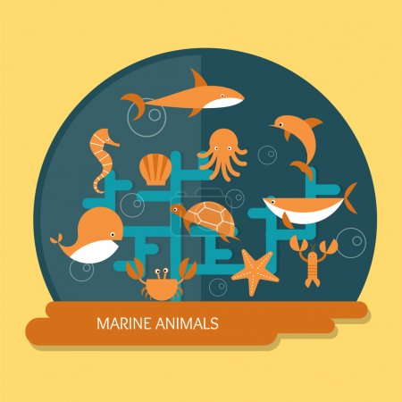Marine animals protection and conservation