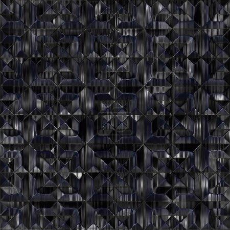 Obsidian. Seamless texture.