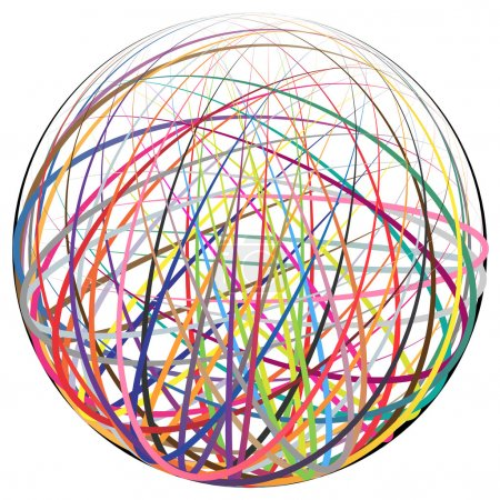 Complex ball made of strings