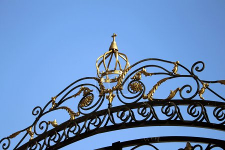 The gate of the Orthodox Church