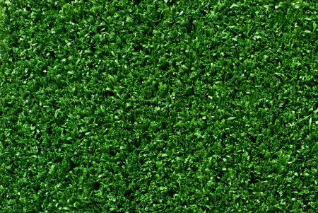 Photo for Artificial green grass , turf background - Royalty Free Image