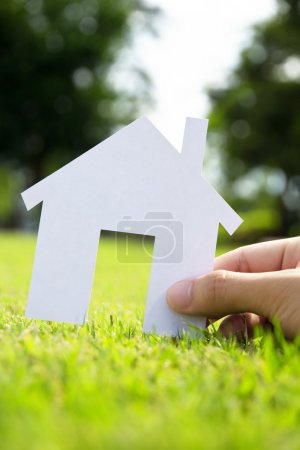 Photo for Concept image of make your house - Royalty Free Image