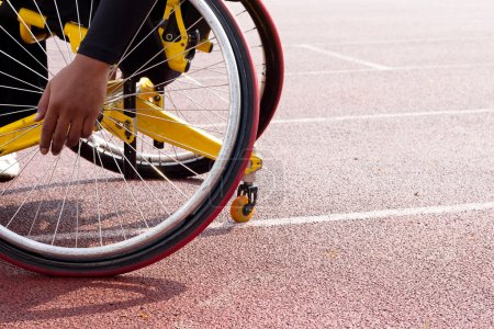 Wheelchair sportsmen