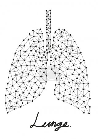 Abstract of lungs
