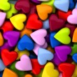 Colorful heart candy background (computer generate...