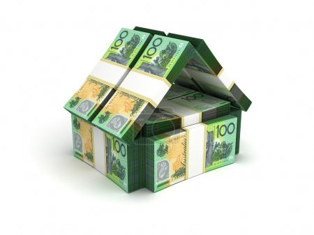 Real Estate Concept Australian Dollar...