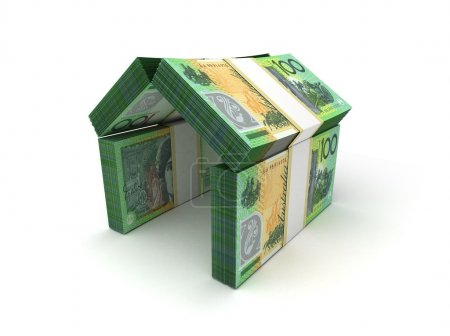 Photo pour Concept immobilier Dollar australien - image libre de droit