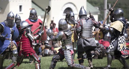 Photo of knights who fight