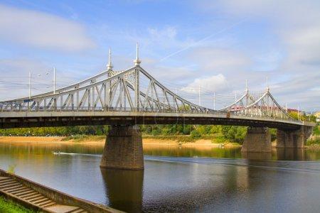 The bridge across the Volga in Tver