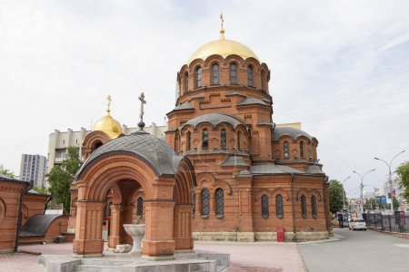 Alexander Nevsky Cathedral in Novosibirsk