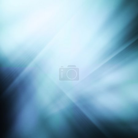 Photo for Abstract blue background - Royalty Free Image