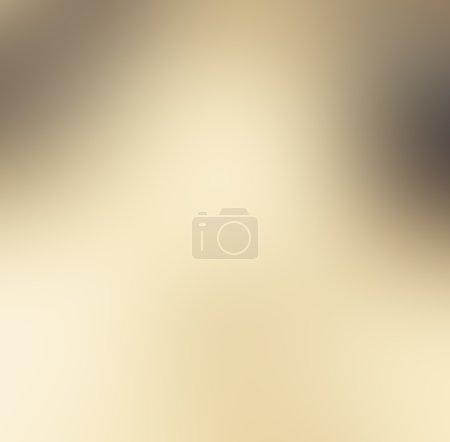 Photo pour Couleur or brun abstrait, luxe lisse design fond forme texture coriace avec projecteur blanc brillant brillant floue texture d'arrière-plan clair image fond, noir frontière grunge vintage - image libre de droit