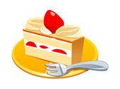 Vektorové ikony dort