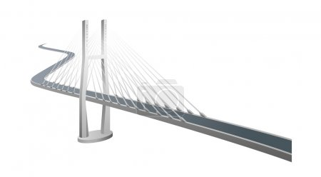 Vector icon bridge