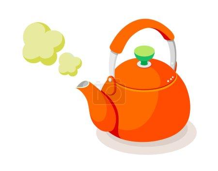Vector icon kettle...