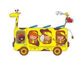 Děti na safari