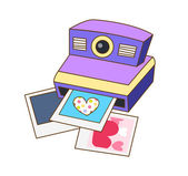 Polaroid as a vector illustration