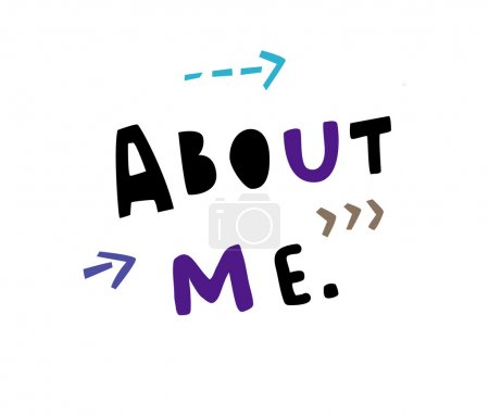 About me sign