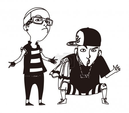 Two rappers