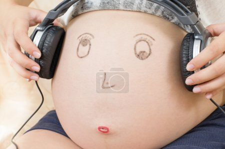 Pregnant Woman Tummy