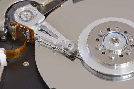 Foto de Inaugurada unidad de disco duro - Imagen libre de derechos