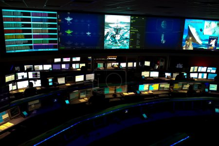 NASA Space Flight Operations Center at the Jet Propulsion Laboratory